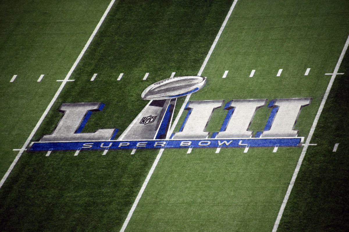 Every NFL team wants to play their last game of the season with the Super Bowl logo at midfield.