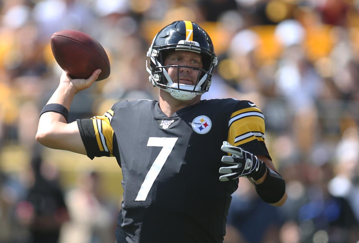 QB Ben Roethlisberger has led the Steelers to three Super Bowls—so far.