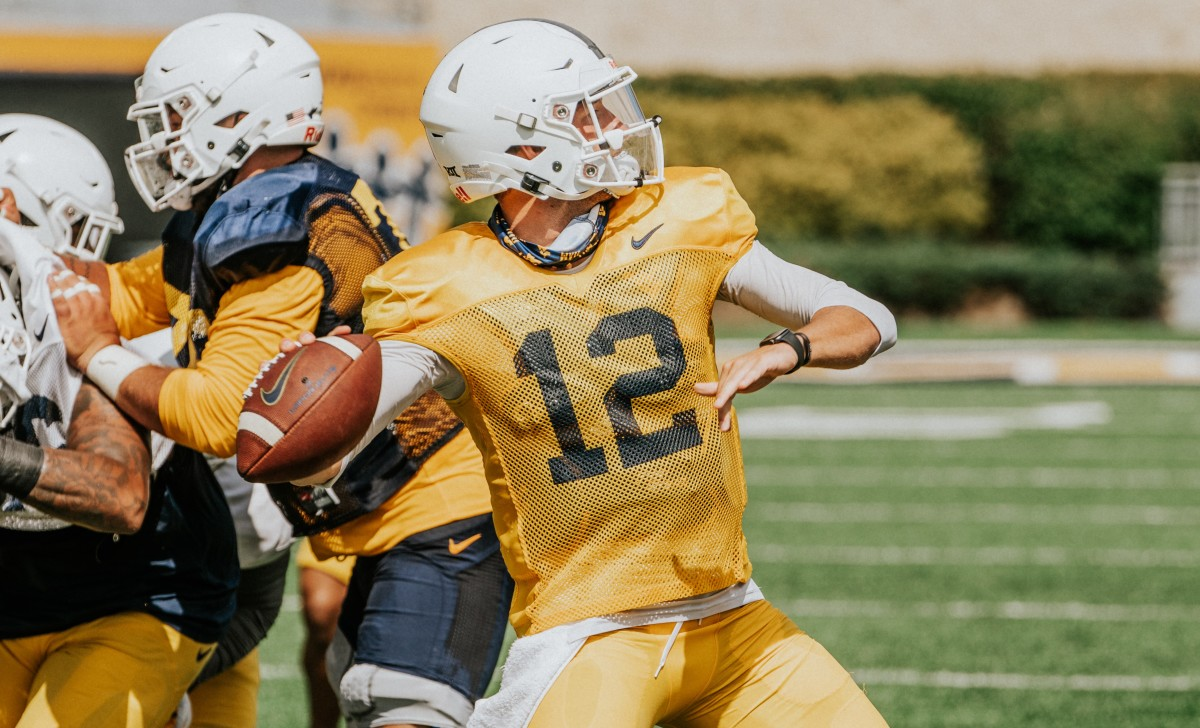 Photo by Caleb Saunders - WVU Football