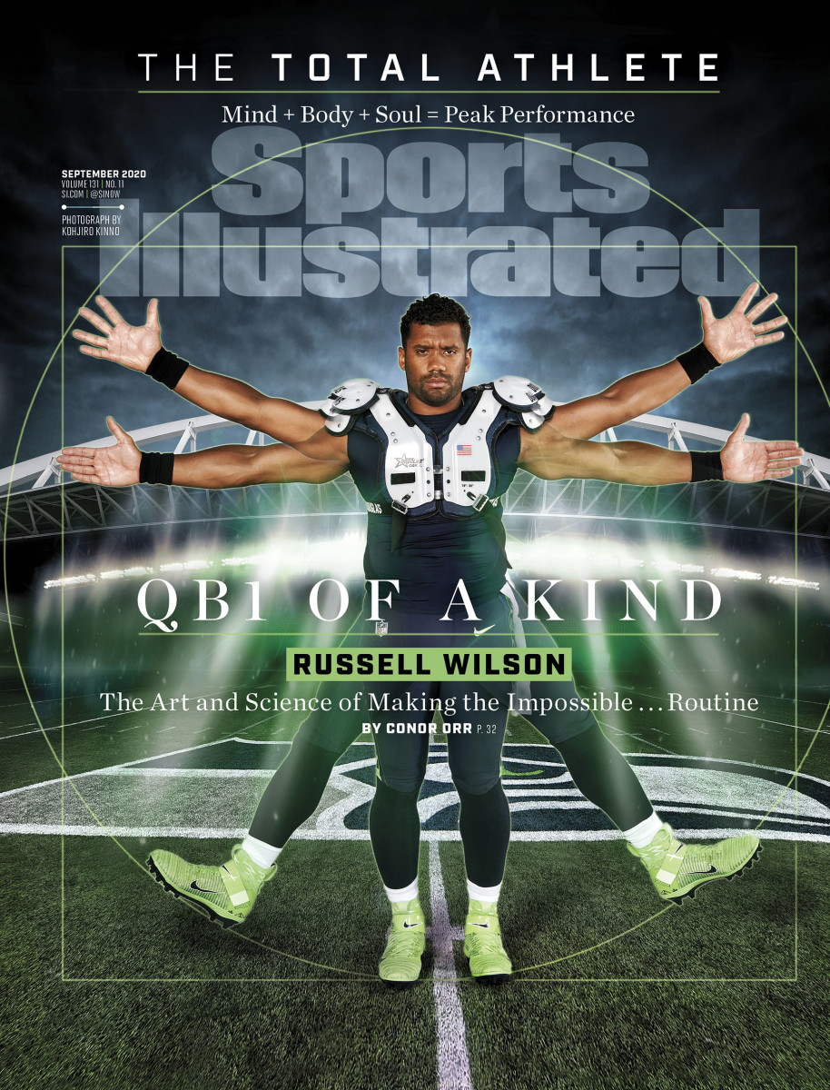 Russell Wilson on the cover of the September 2020 issue of Sports Illustrated