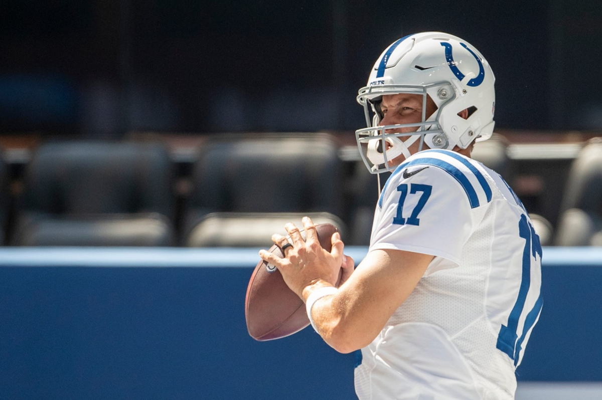 The Indianapolis Colts are counting on 38-year-old quarterback Philip Rivers to lead the franchise to the playoffs, something that has happened only once in five years.