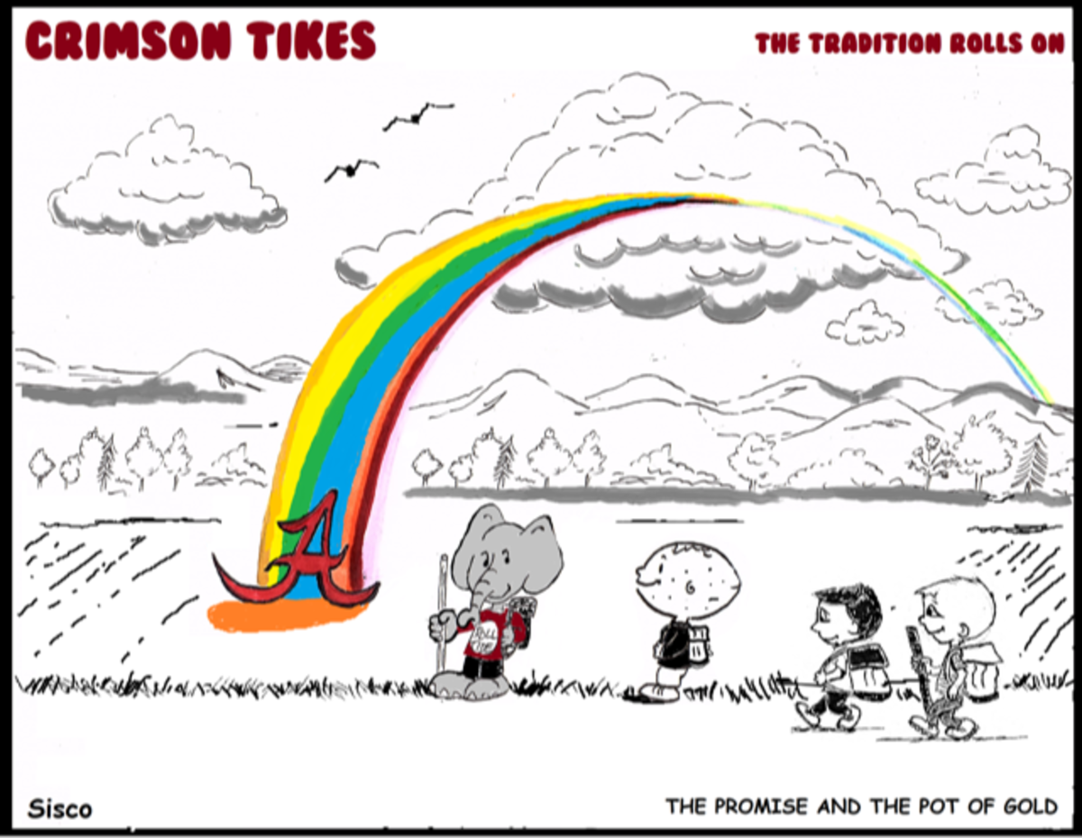 Crimson Tikes: The Promise and the Pot of Gold