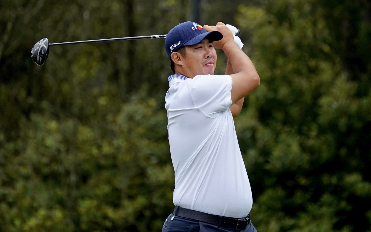 Byeong Hun An is in the hunt at the BMW Championship