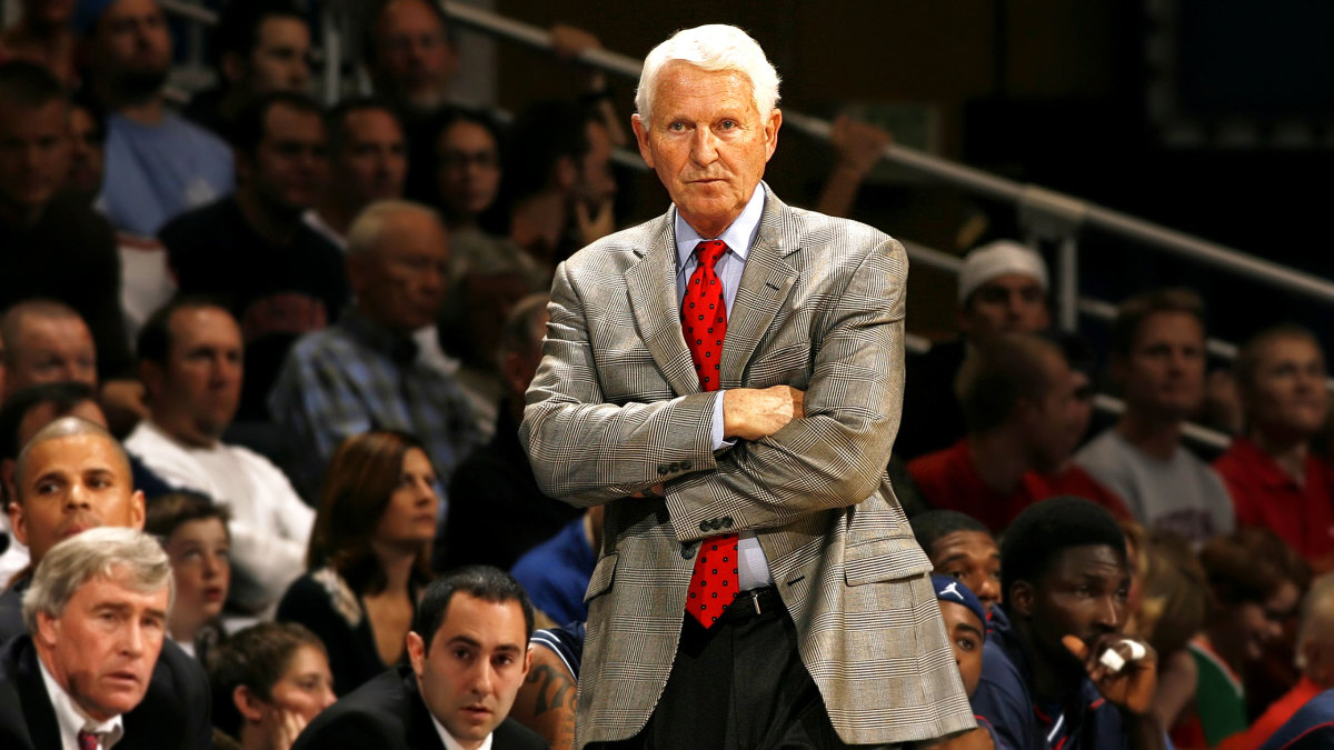 Former Arizona coach Lute Olson