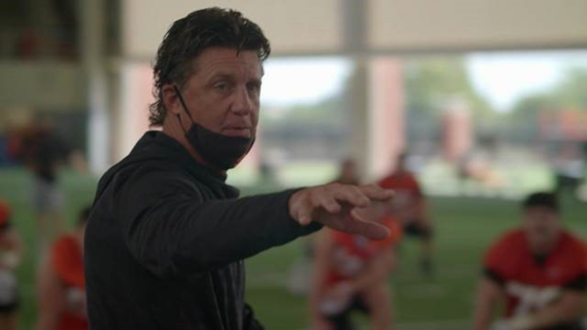 Mike Gundy decided to forego practice and the scrimmage to allow his players and coaches to reflect and discuss the current social climate.