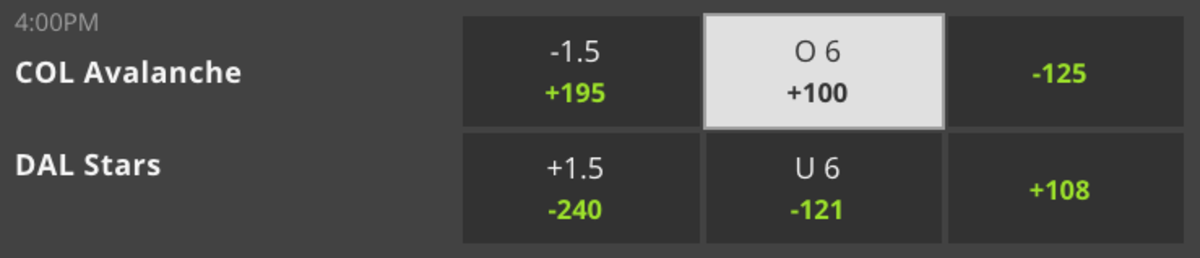 Odds Via DraftKings - 6:00 PM ET Game Time