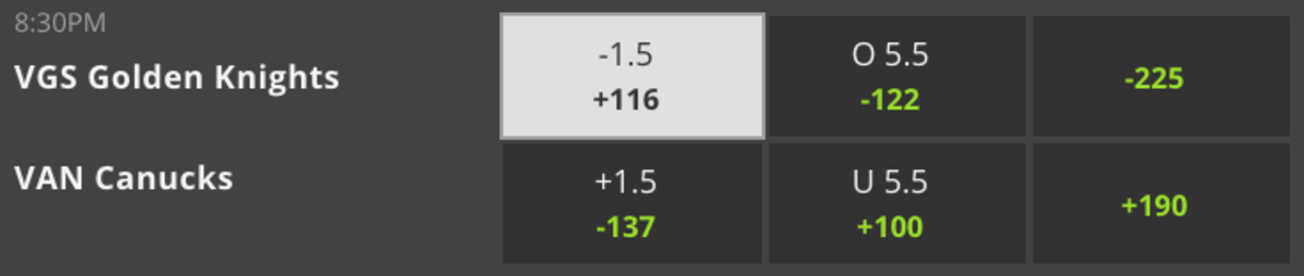 Odds Via DraftKings - 9:30 PM ET Game Time