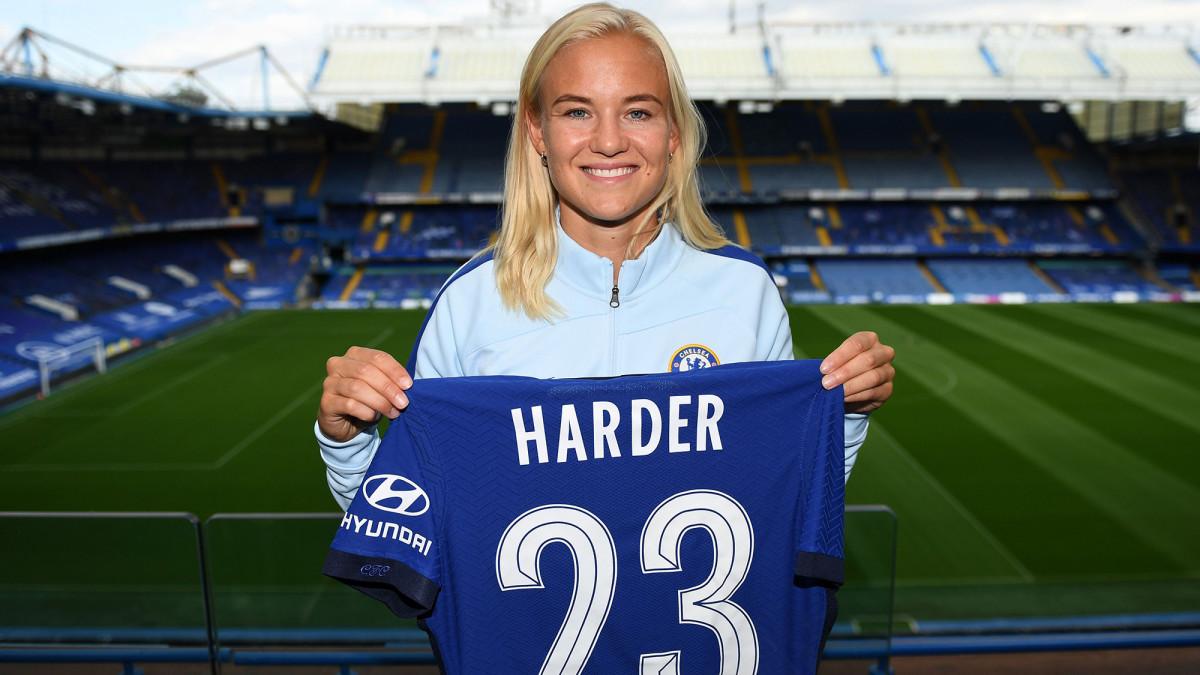 Pernille Harder: Chelsea Women sign Denmark forward from