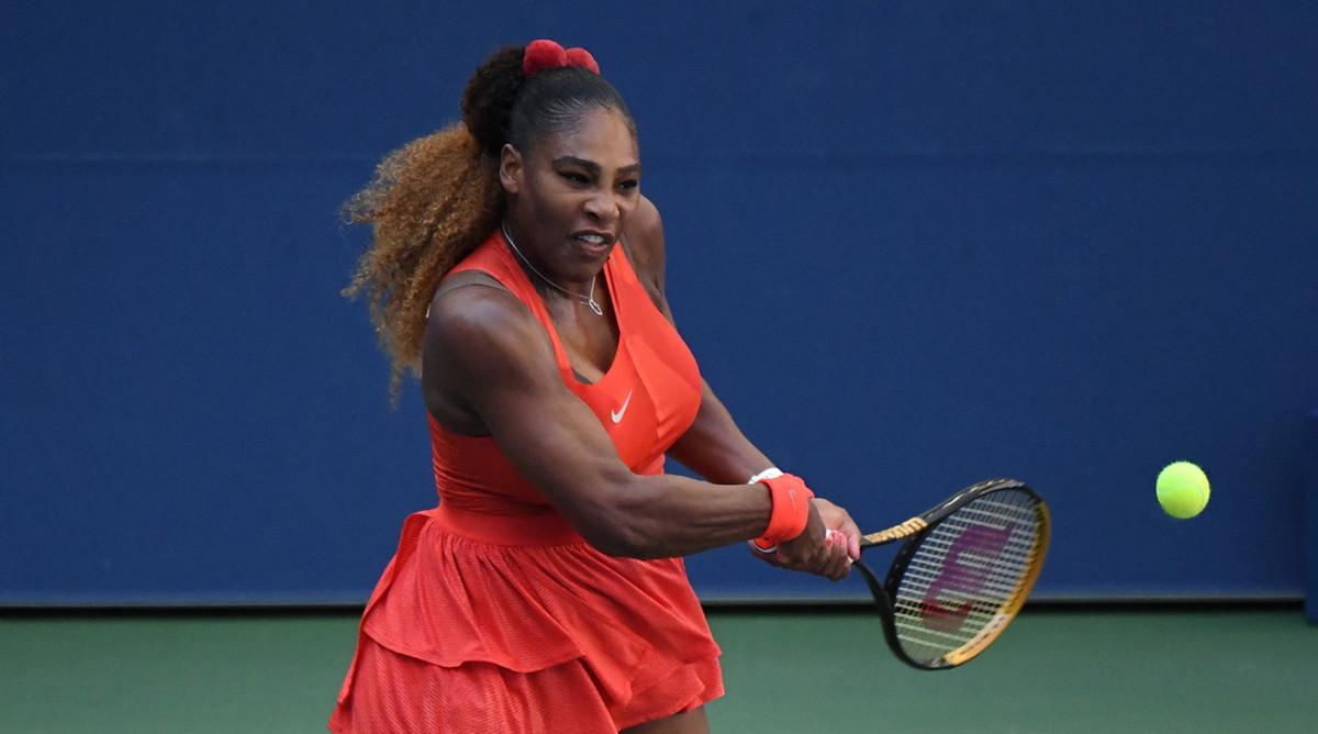 Serena Williams rallies to beat Sloane Stephens in three ...