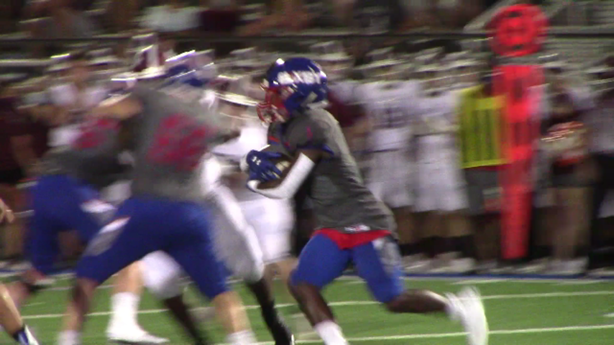To defenders, Braylin Presley is like he is in this picture, a blur.