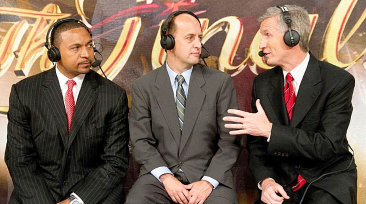 Mark Jackson, Jeff Van Gundy, Mike Breen