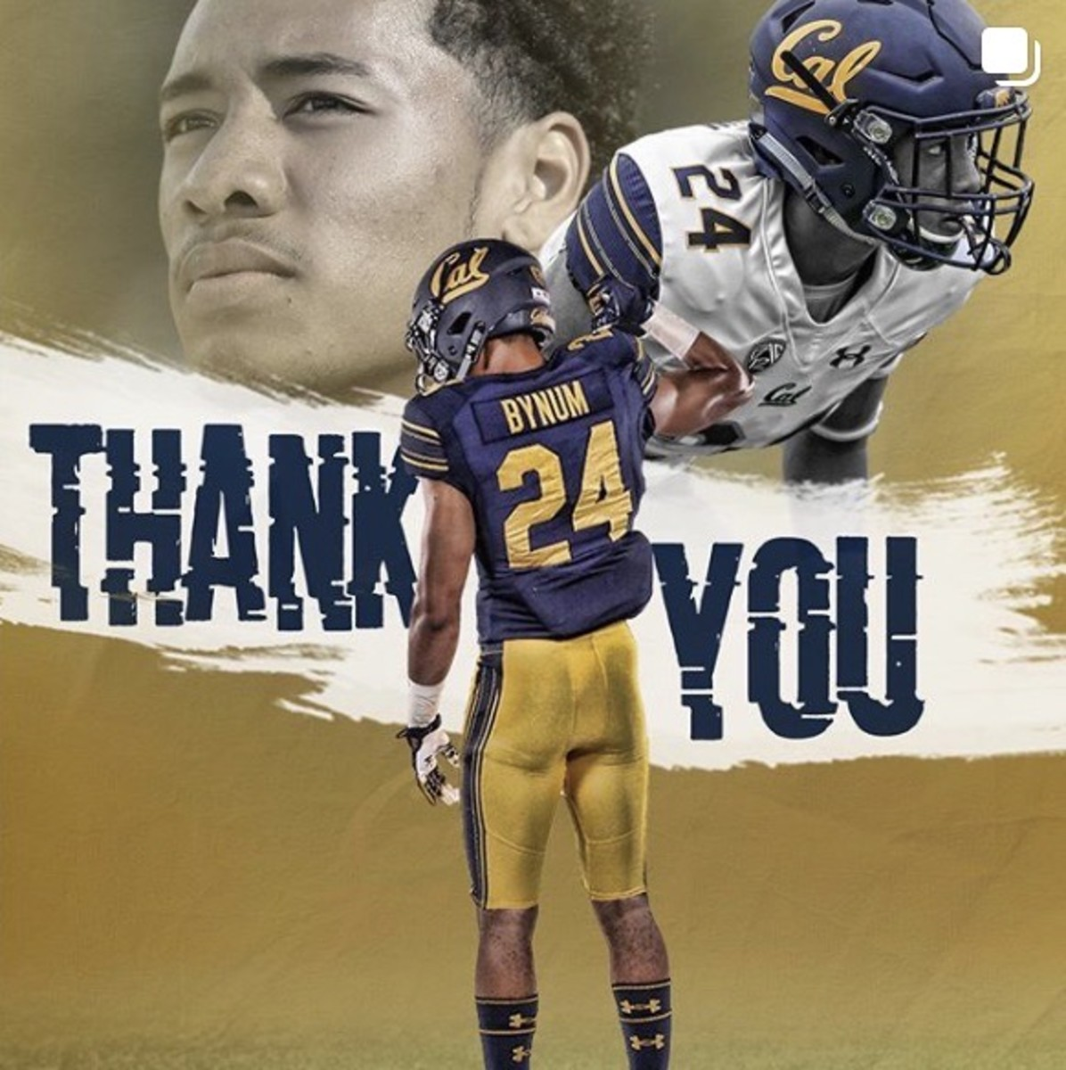 Cam Bynum's thank you to Cal