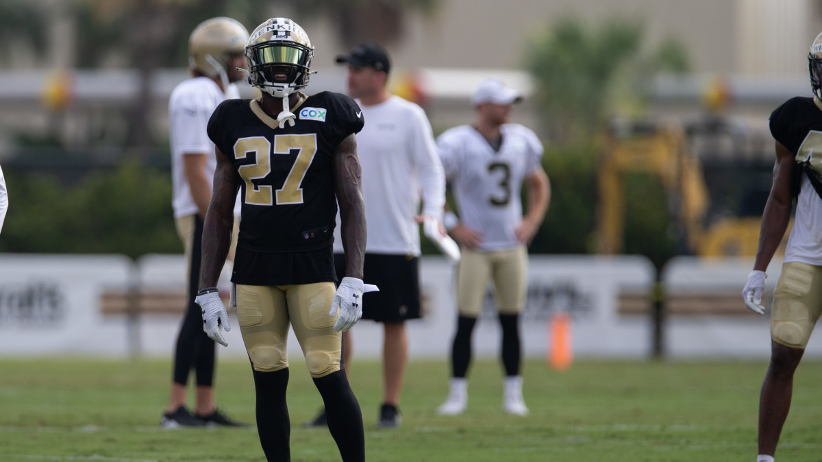 Malcolm Jenkins at Saints Training Camp in 2020 - 2