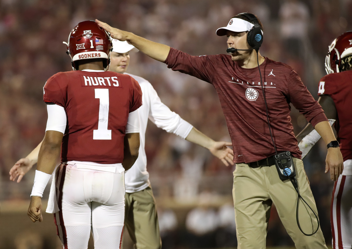 Lincoln Riley, Jalen Hurts
