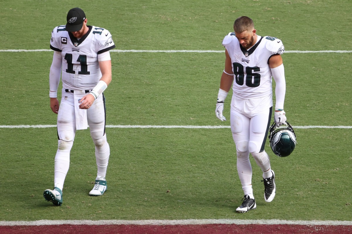 Eagles Have Talked to Seahawks, Colts about Trade for Zach Ertz - Sports Illustrated