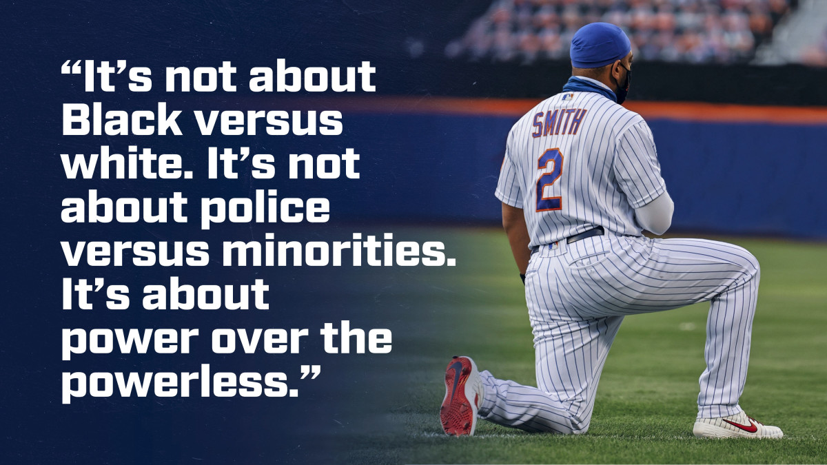 After the Worst Night of His Season, Dominic Smith Used His Voice