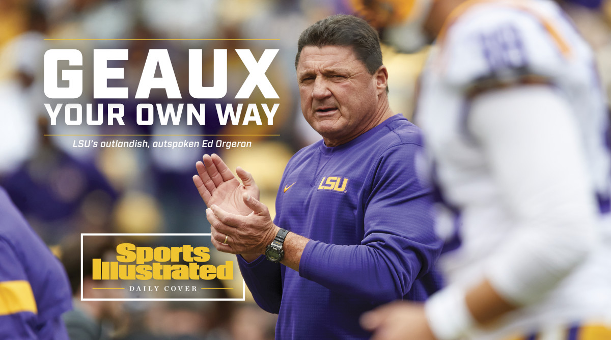 Ed Orgeron: LSU football coach opens up about impact of COVID-19 thumbnail