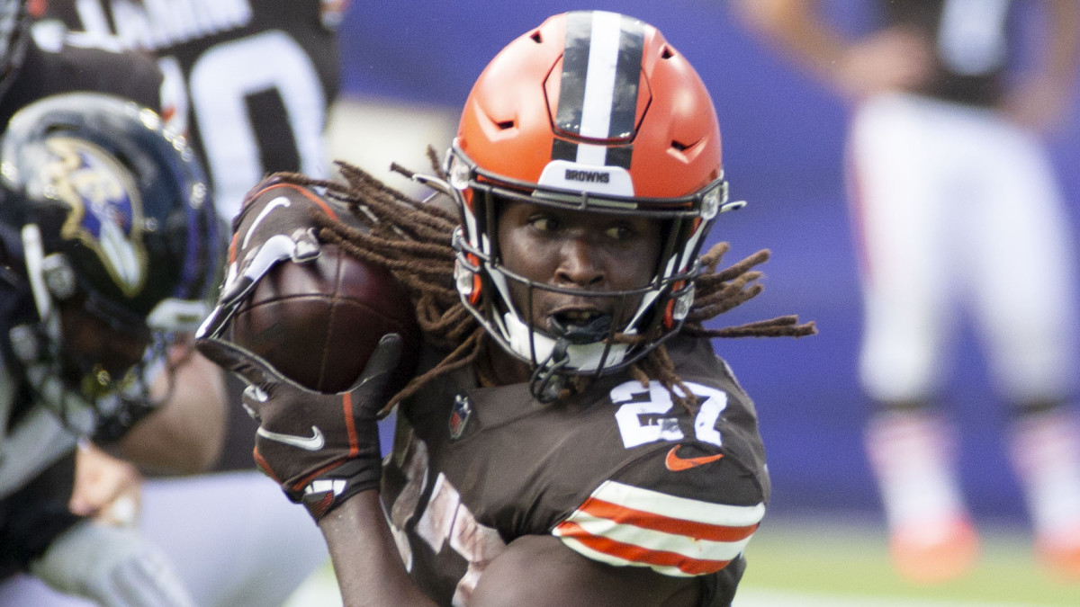 Kareem Hunt, Cleveland Browns