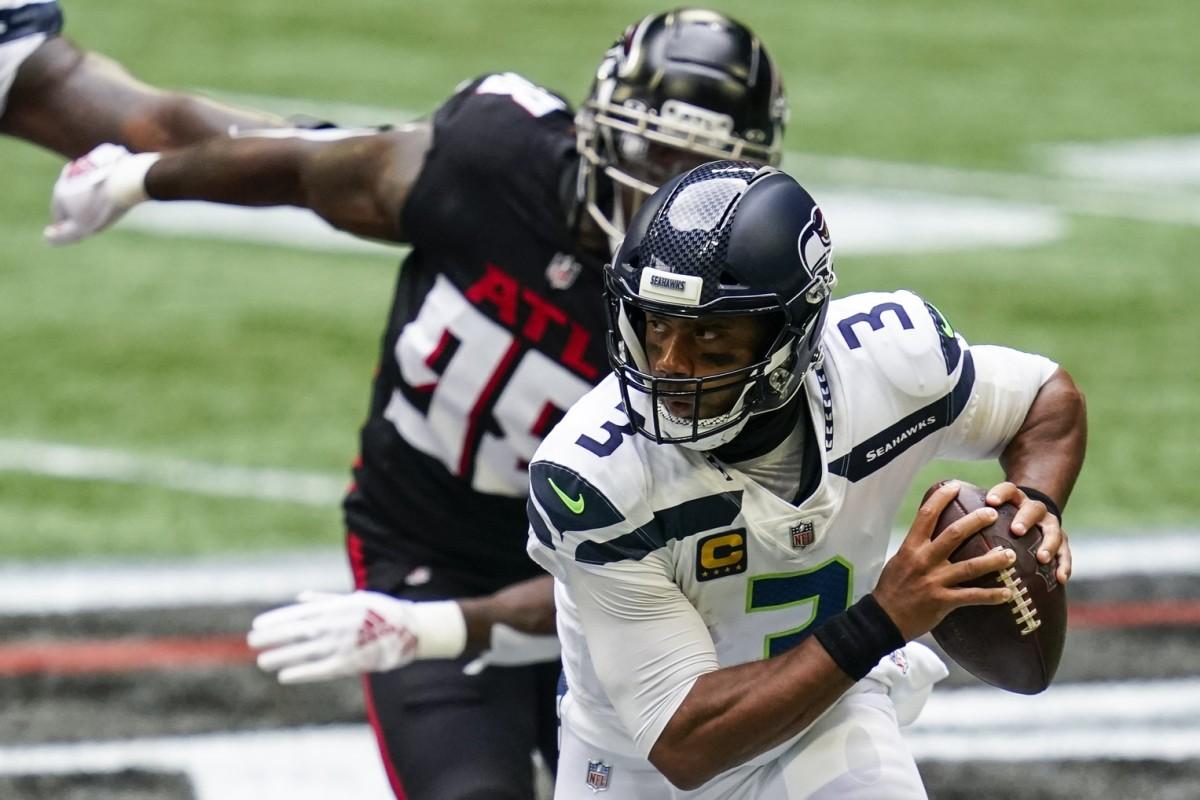 Russell Wilson defeats Atlanta Falcons