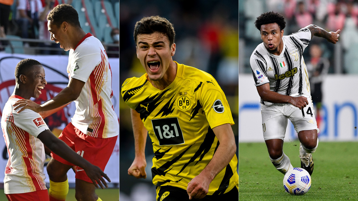 Tyler Adams, Gio Reyna and Weston McKennie stood out for their respective clubs