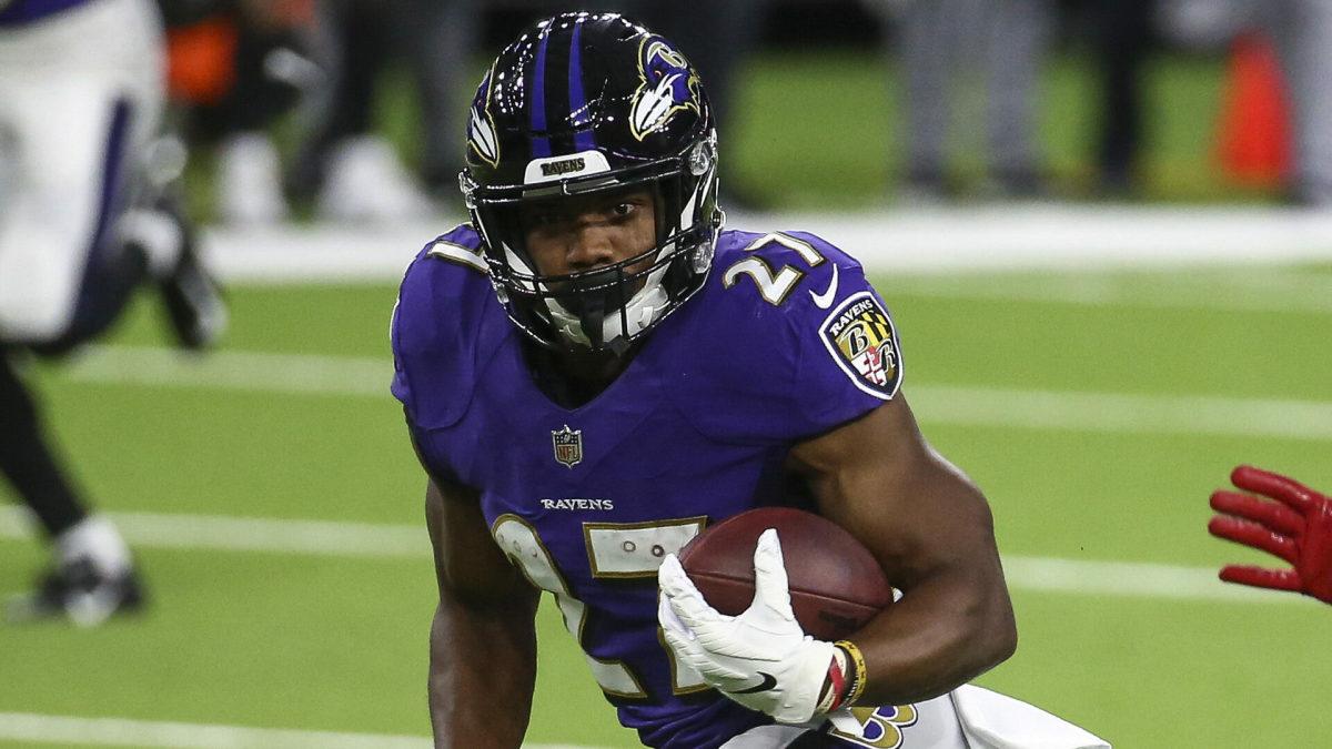 J.K. JK Dobbins, Baltimore Ravens