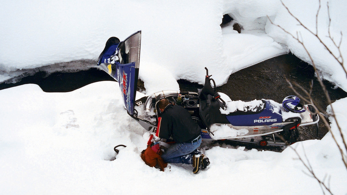Gardner's snowmobile wreck made a lasting impression on him: He reflects on it frequently, and it has cost him feeling in his feet.
