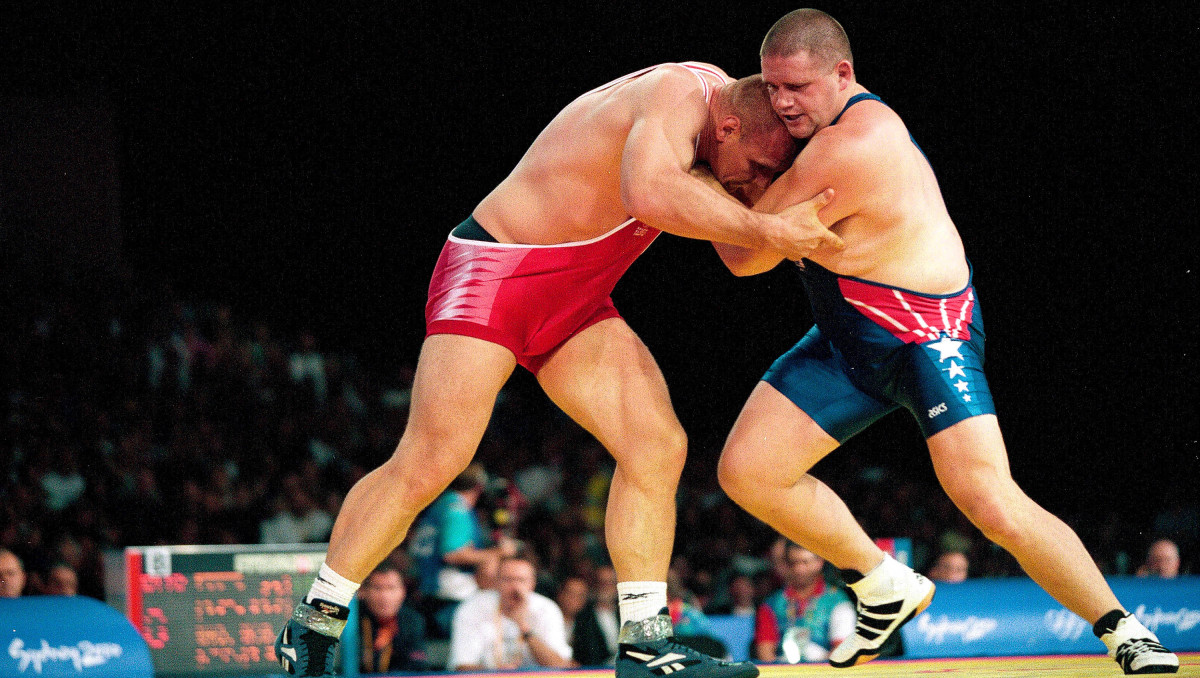 Gardner won his cherished (and oft-photographed) gold by beating the seemingly unbeatable Karelin.