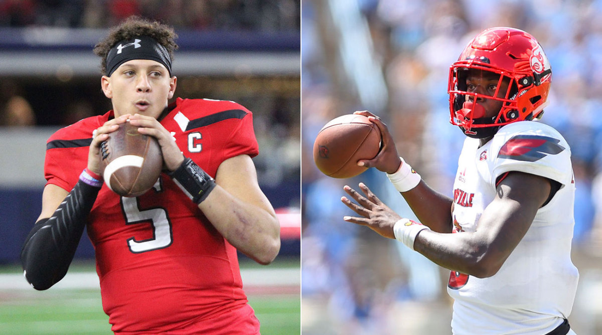 Revisiting Lamar Jackson and Patrick Mahomes as Draft Prospects Before Their MNF Showdown – Sports Illustrated