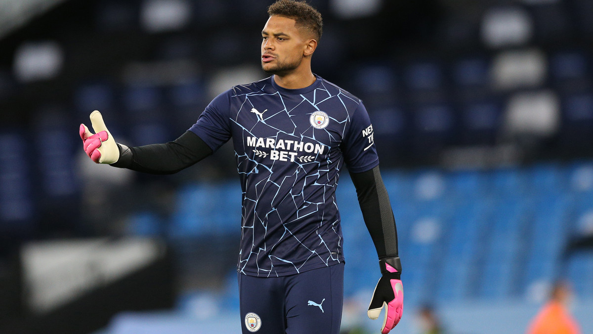 USA GK Zack Steffen Makes His Manchester City Debut in League Cup