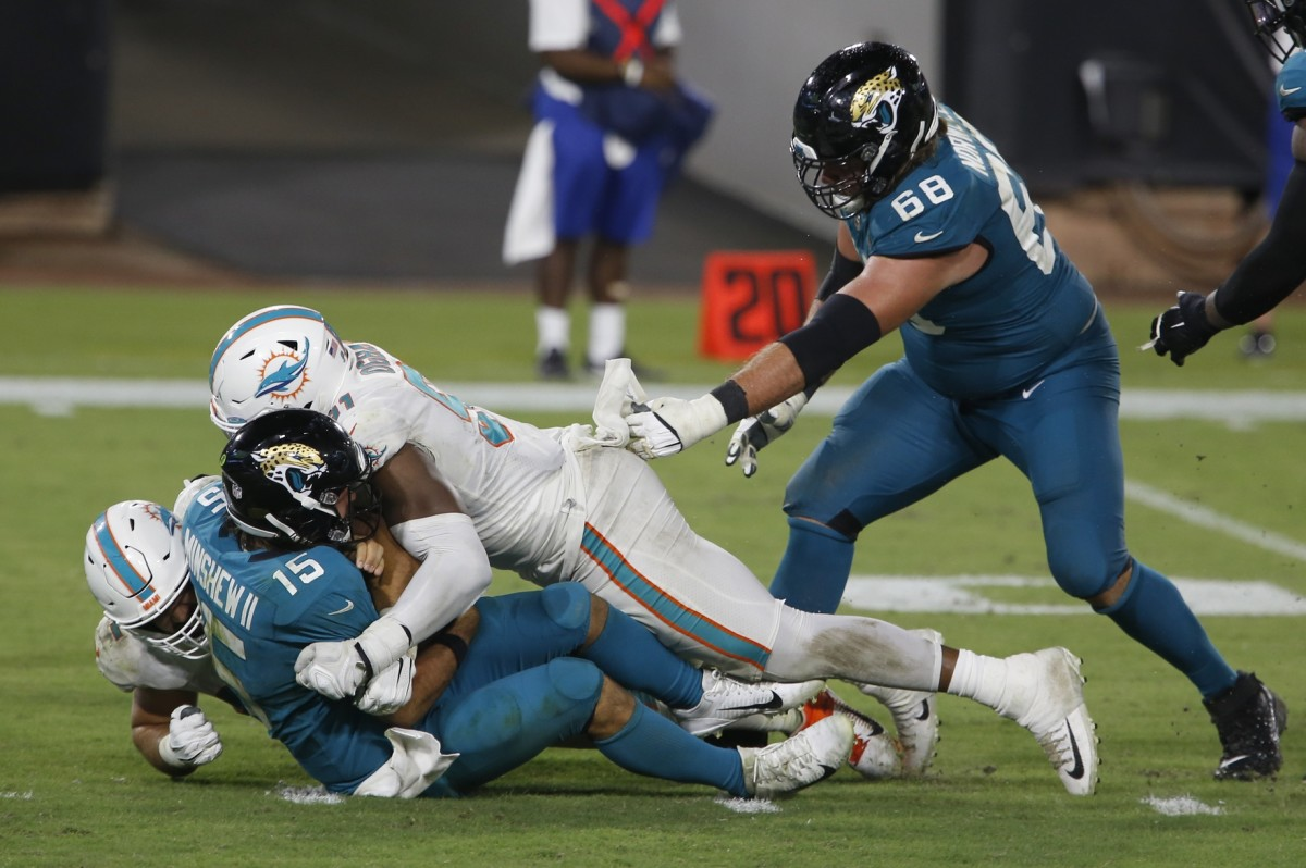 The Jacksonville Jaguars have been continually outscored in the first half of three games this season.