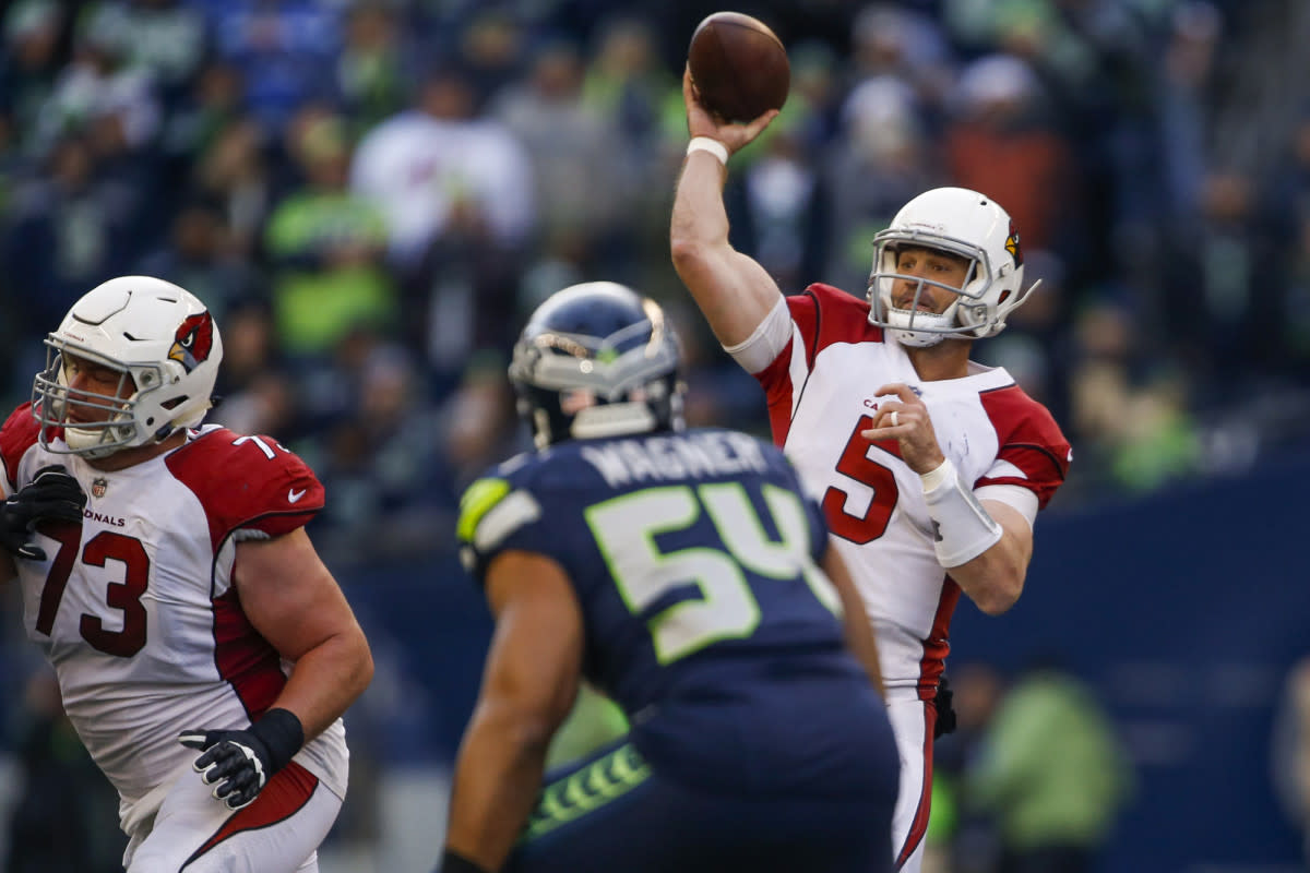 Former Cardinals quarterback Drew Stanton was never a regular starter, but he had a winning record in spot starts between 2014 and '17.