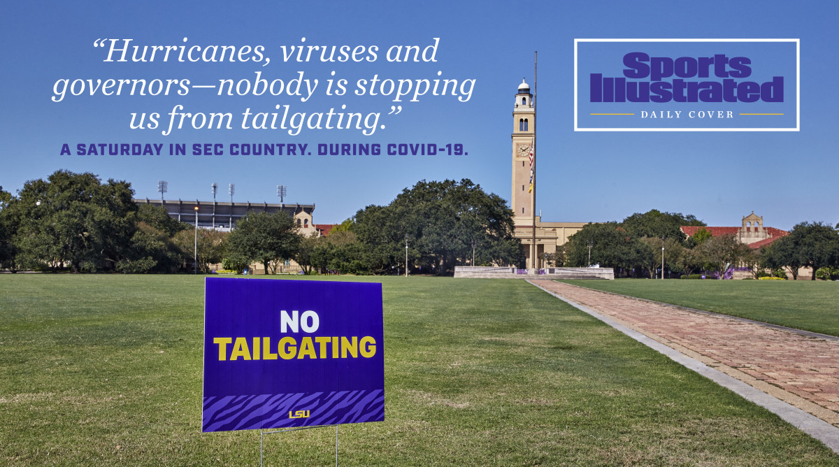 Banned on Campus, LSU's Famous Tailgating Looks a Lot Different in 2020