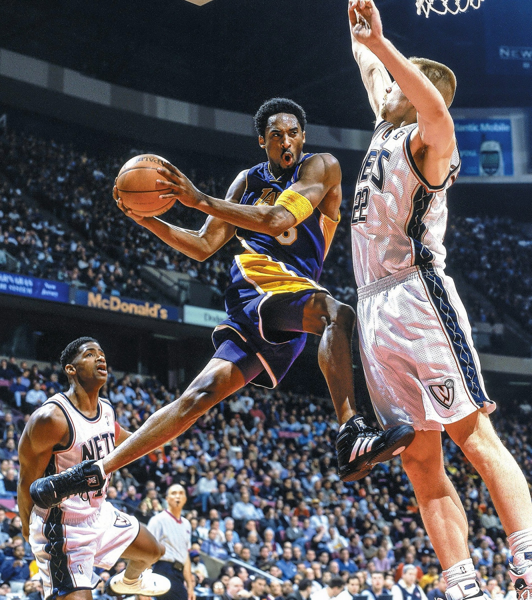 Kobe—newly engaged, newly fired up—exploded in 1999-2000.