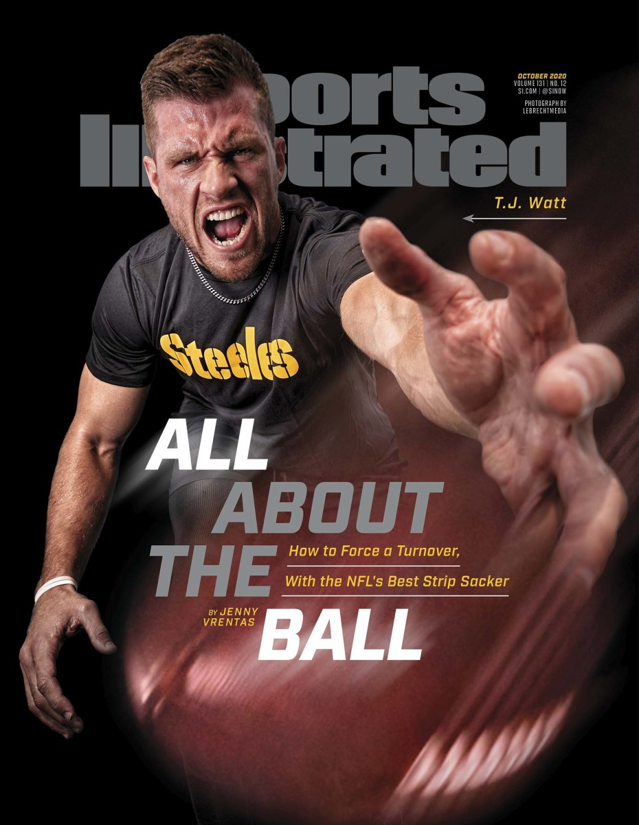 T.J. Watt on the October 2020 of Sports Illustrated