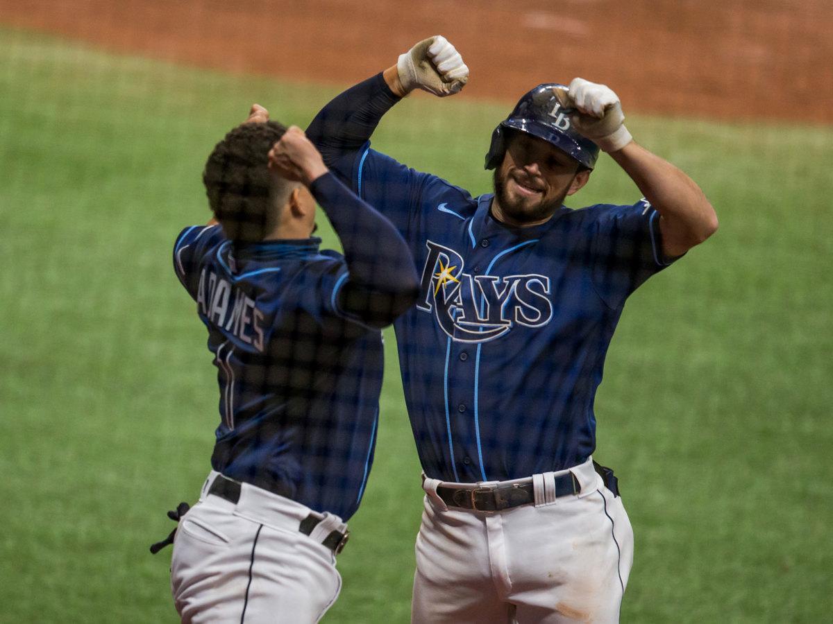 Tampa Bay Rays celebration