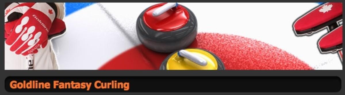 Play Goldline Fantasy Curling!