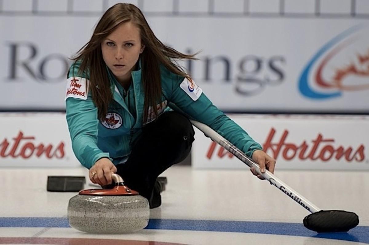 Rachel Homan: Is she a curling robot? Just asking...