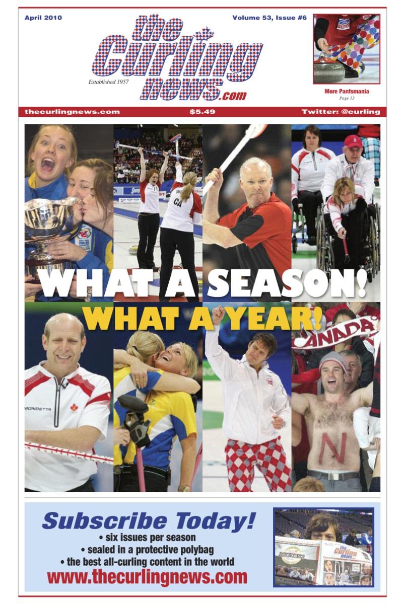 Celebrate an amazing Olympic curling season with us