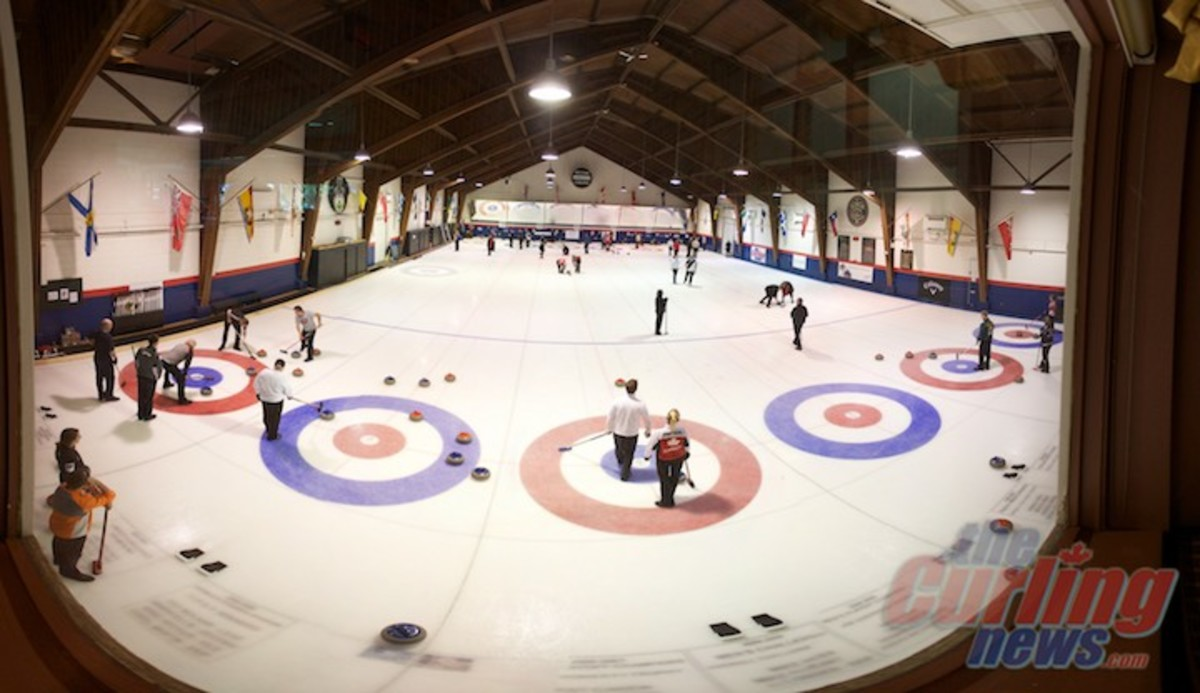 Toronto Cricket Skating and Curling Club played host
