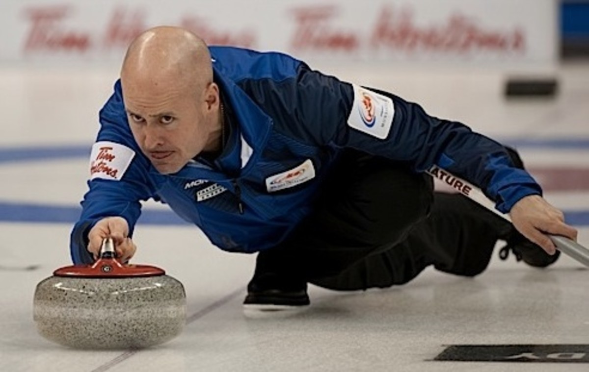 COMING IN HOT: Kevin Koe