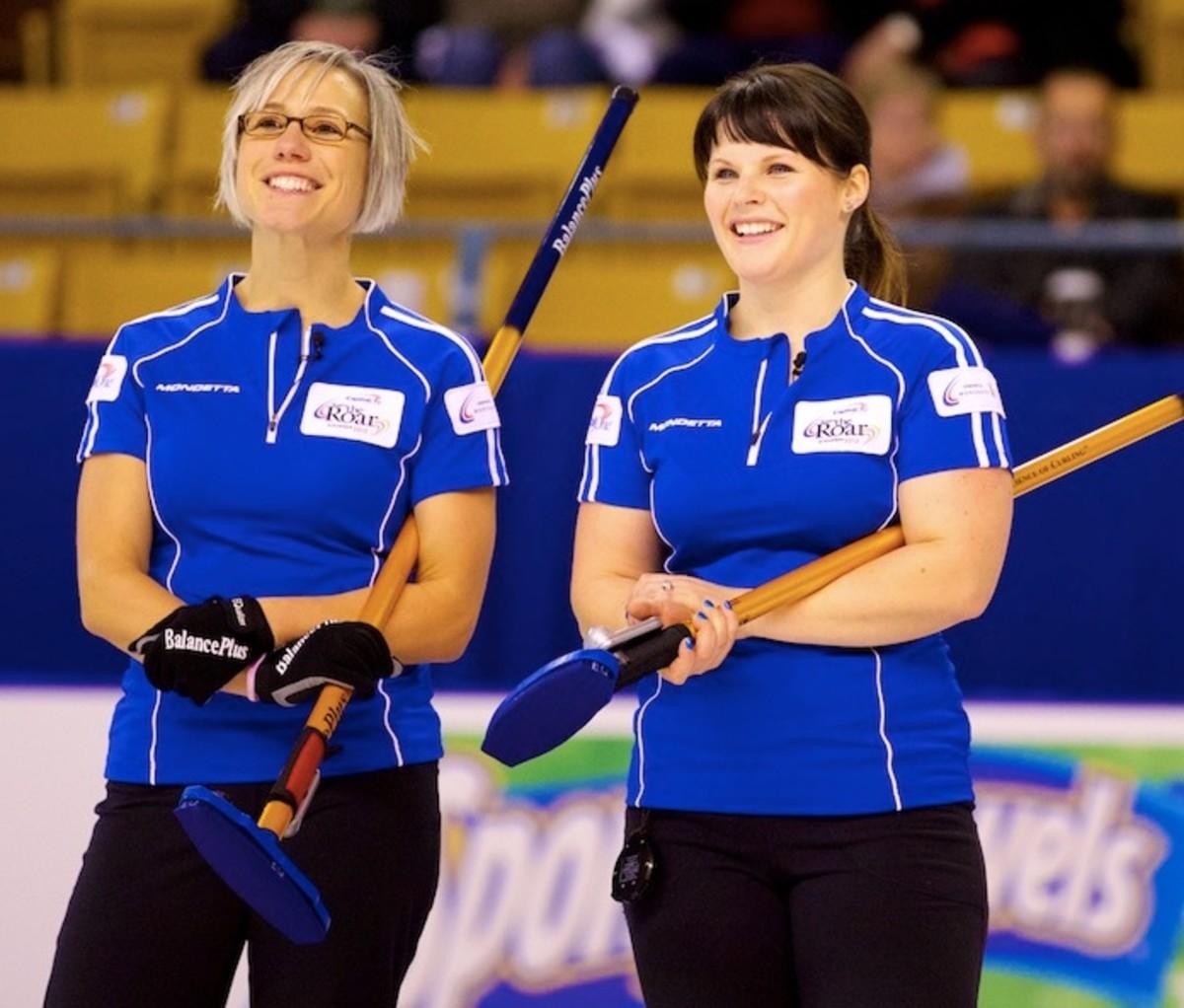 Team Sonnenberg enjoyed Kitchener