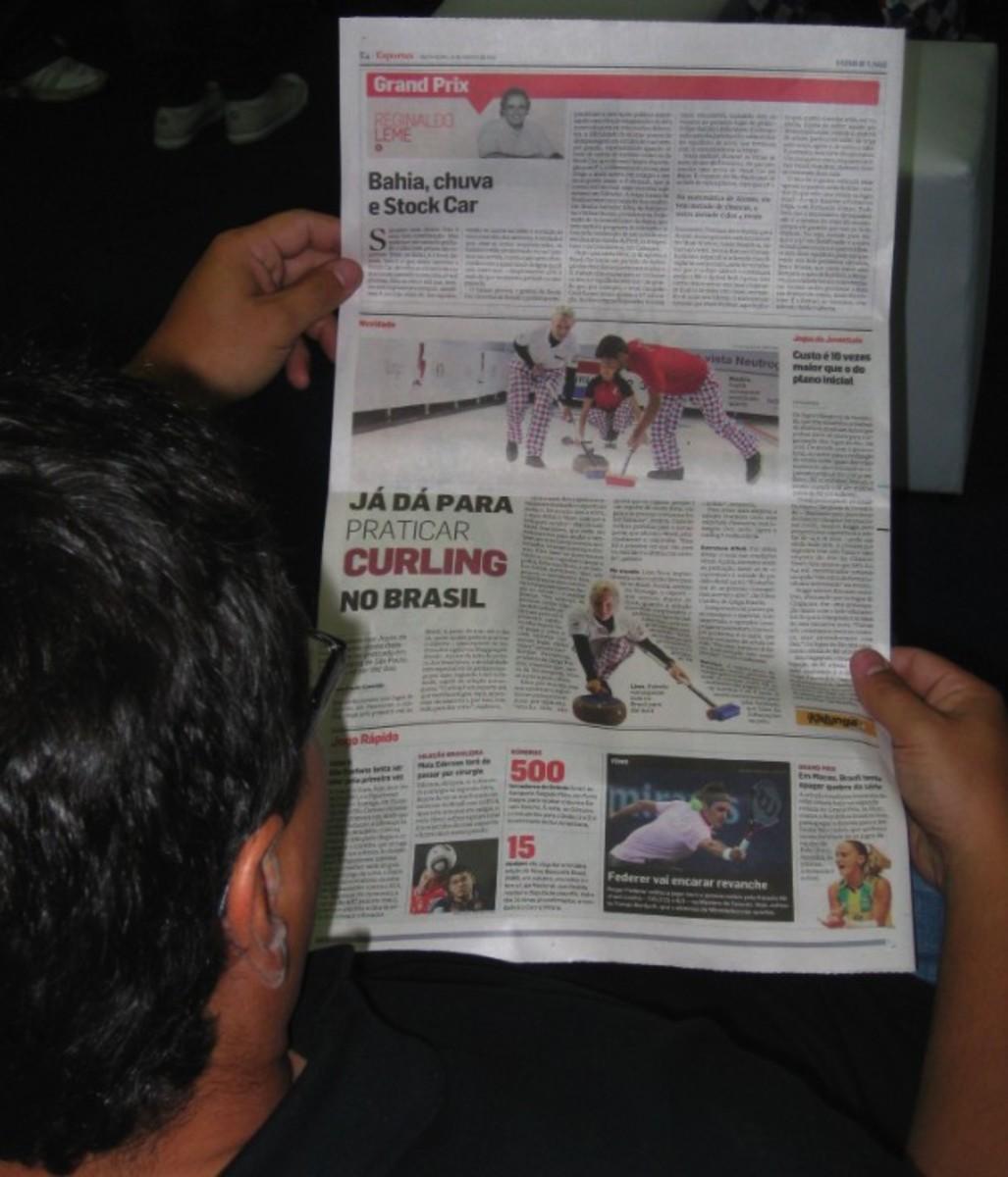 Mark Shurek checks out the news