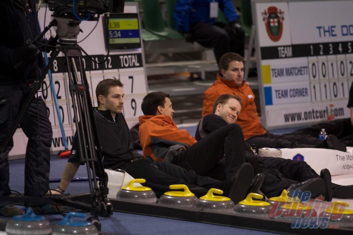 Team Bice watched their tiebreaker chances slip away on Friday night