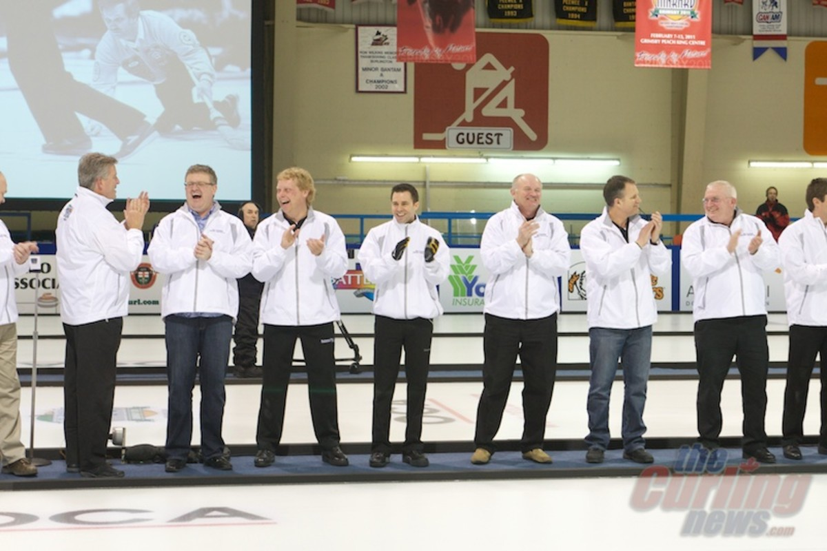 The Parade of Champions honoured two-dozen ON winners dating back to the 1980s