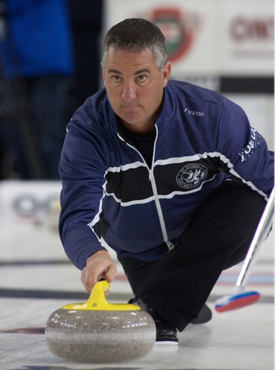 Middaugh in Tankard action
