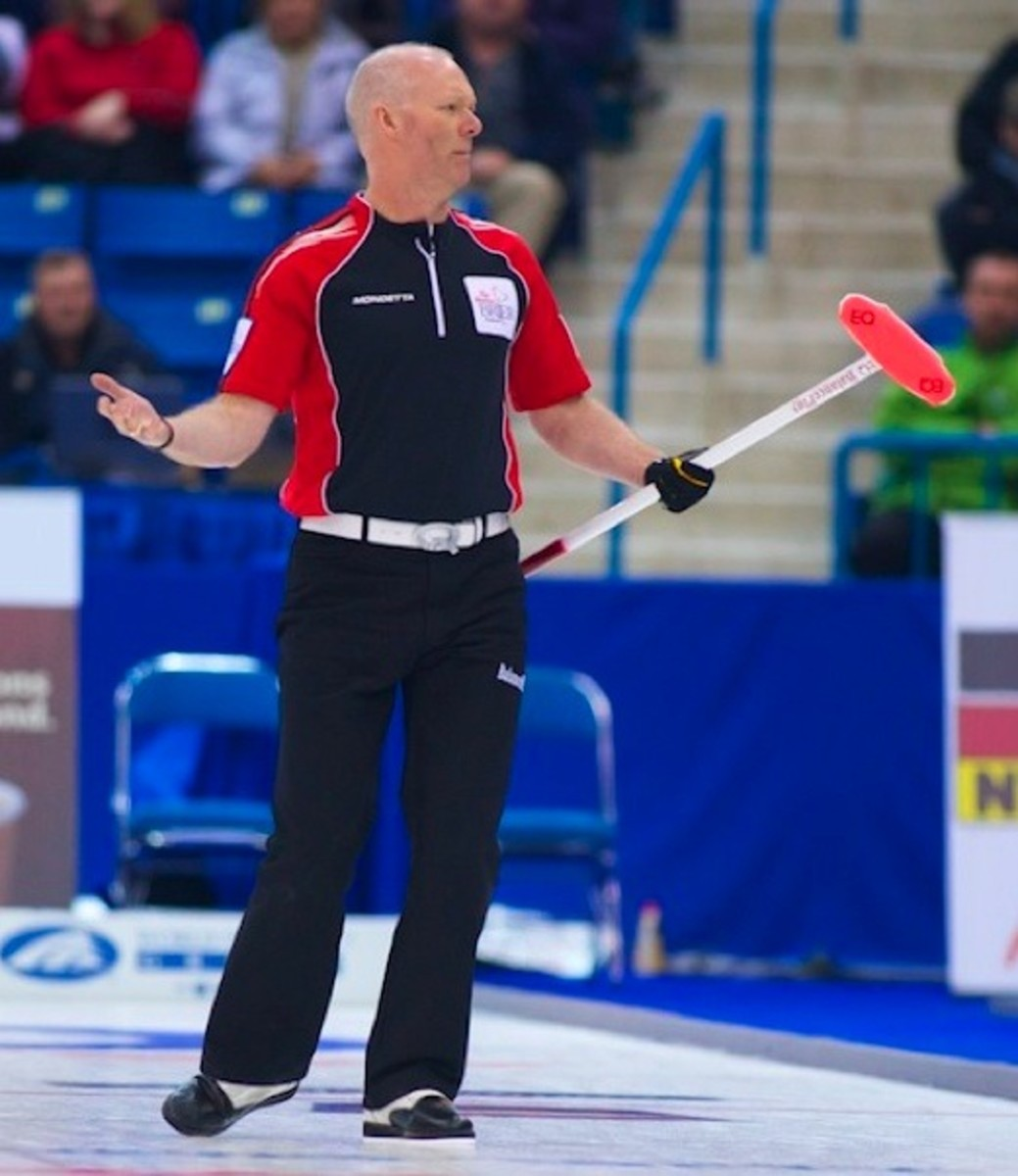 WHAT THE..? Ontario fans won't want to see experssions like this this by the end of Brier week