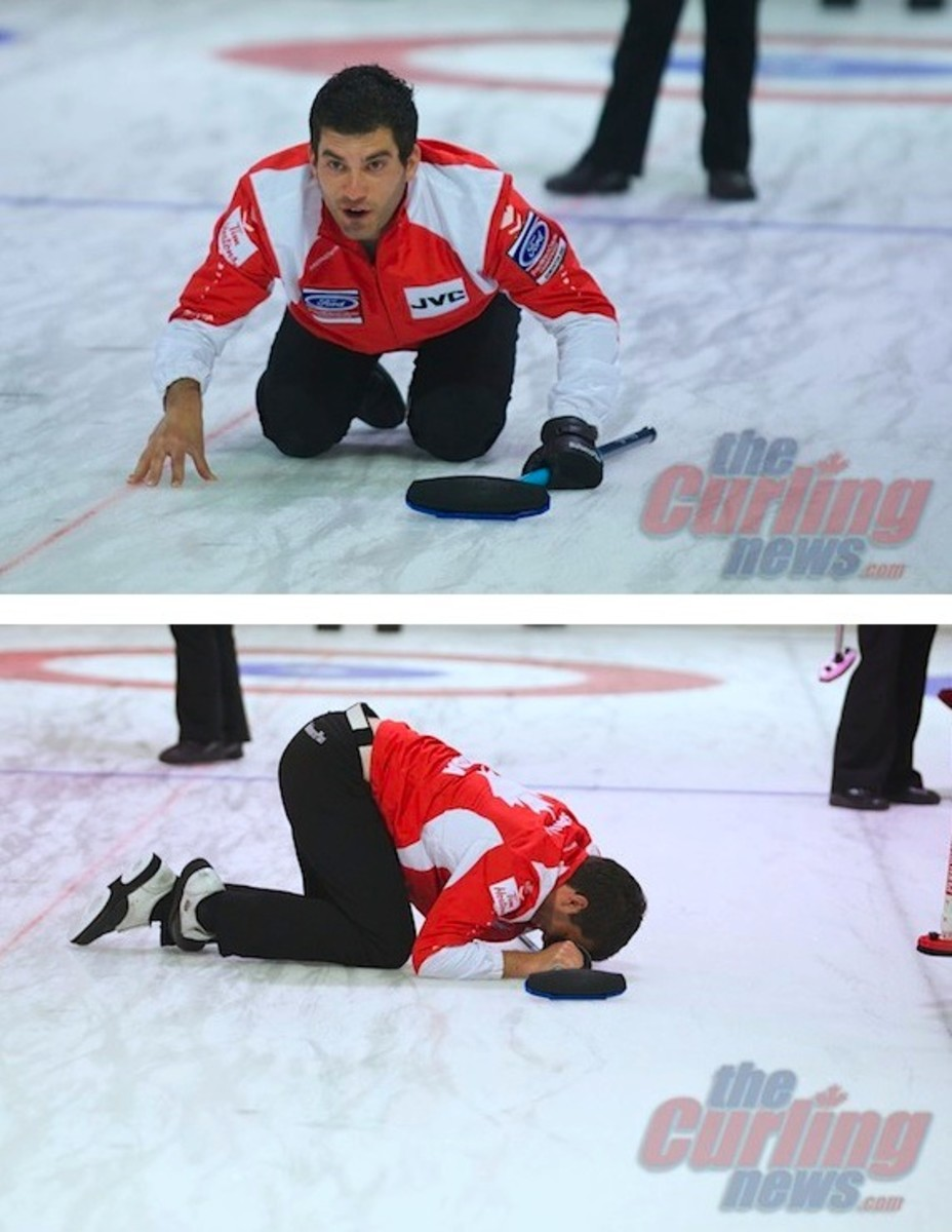 Craig Savill is just one celebrity who can ham it up for his charity bonspiel teammates