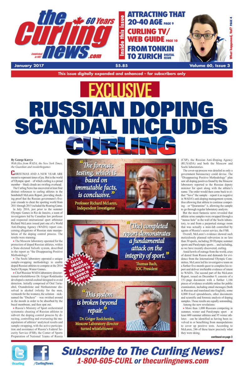 We first broke the news of curling athlete involvement a year ago