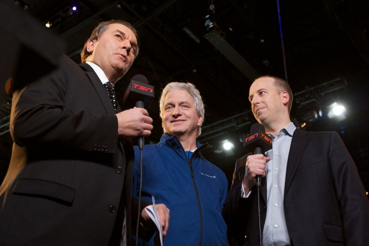 Vic Rauter, George Cooke and Stewart Johnston (L to R)