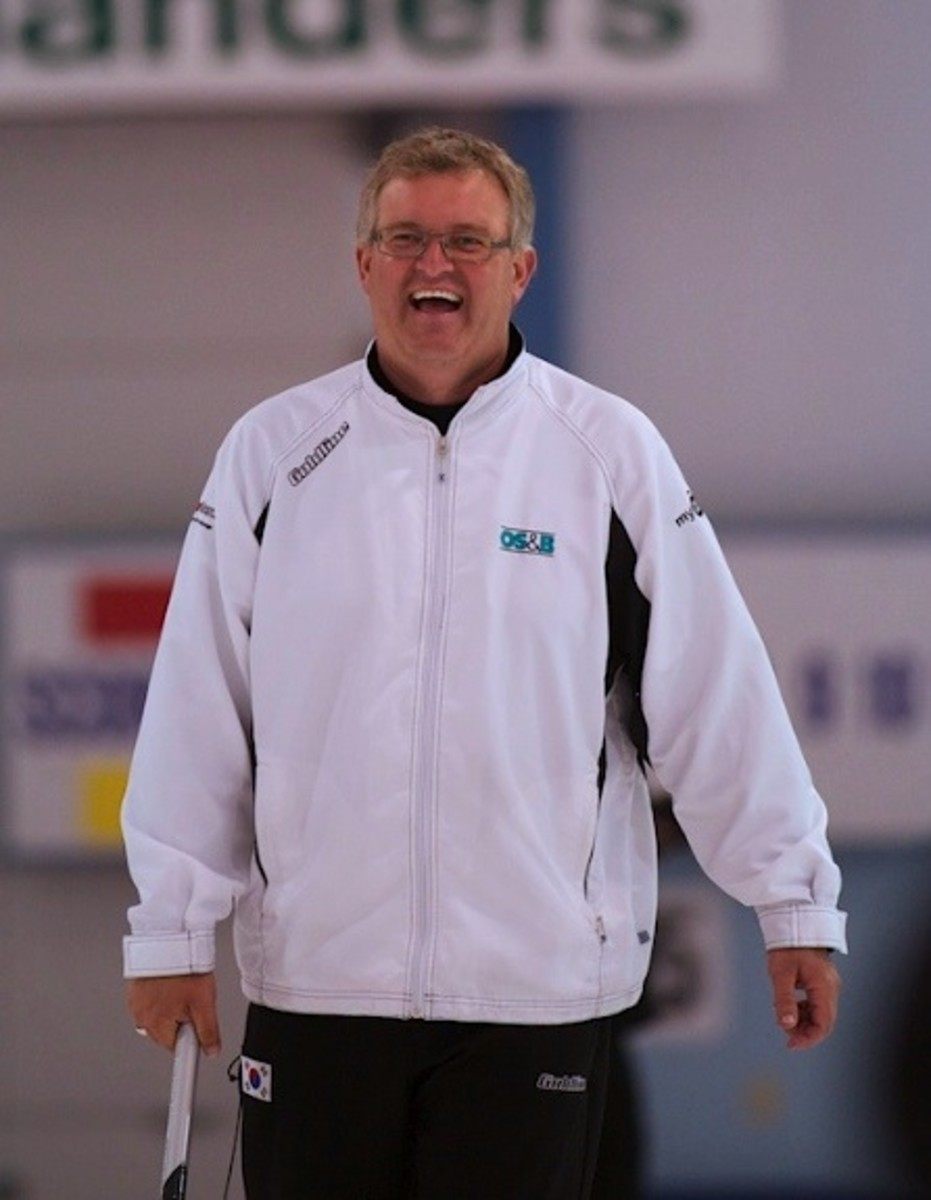 Mike Harris had a secret at the weekend's OCT Championships